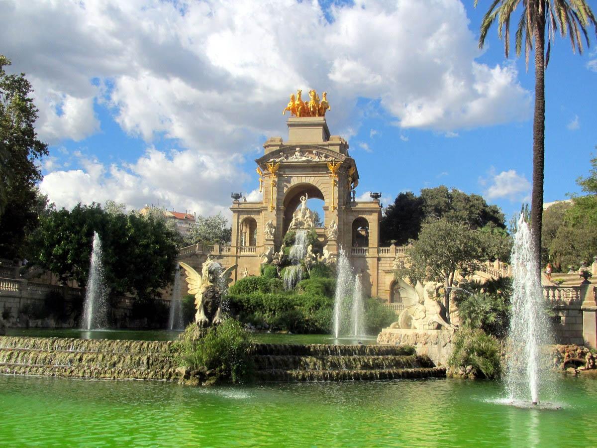 парк Сьютаделла в Барселоне