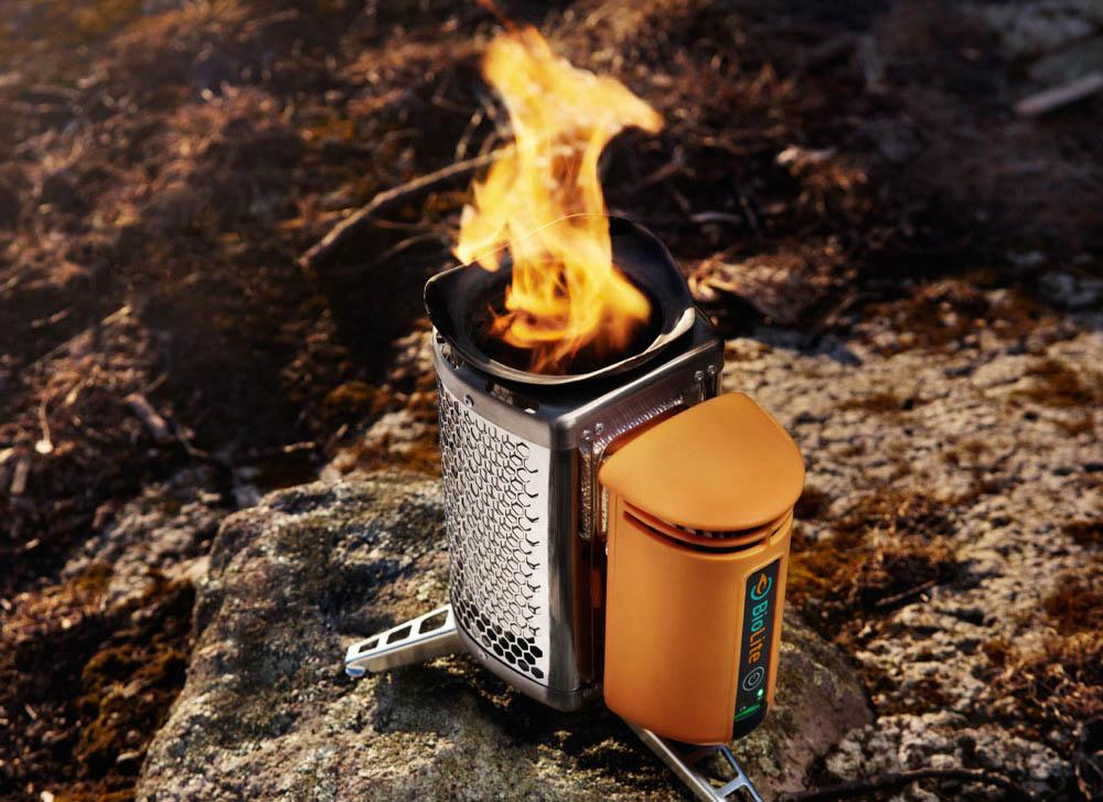 печь-зарядка Biolite Campstove