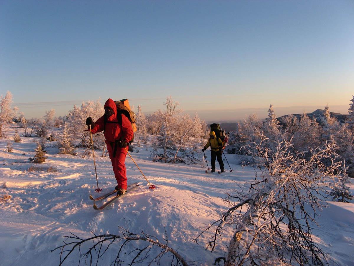 поход в горы Южного Урала зимой