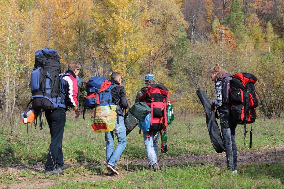 поход в горы Южного Урала