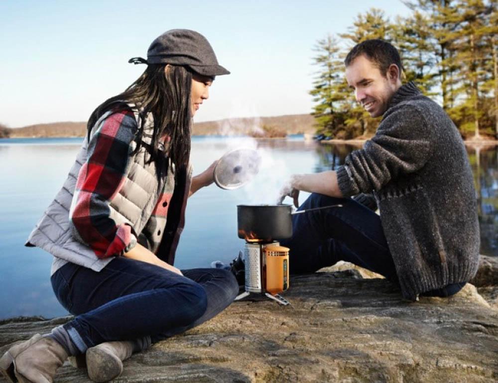 походная печь-зарядка Biolite Campstove