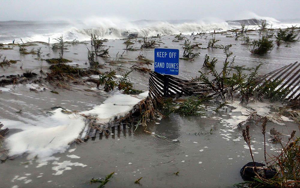 последствия после урагана Сэнди