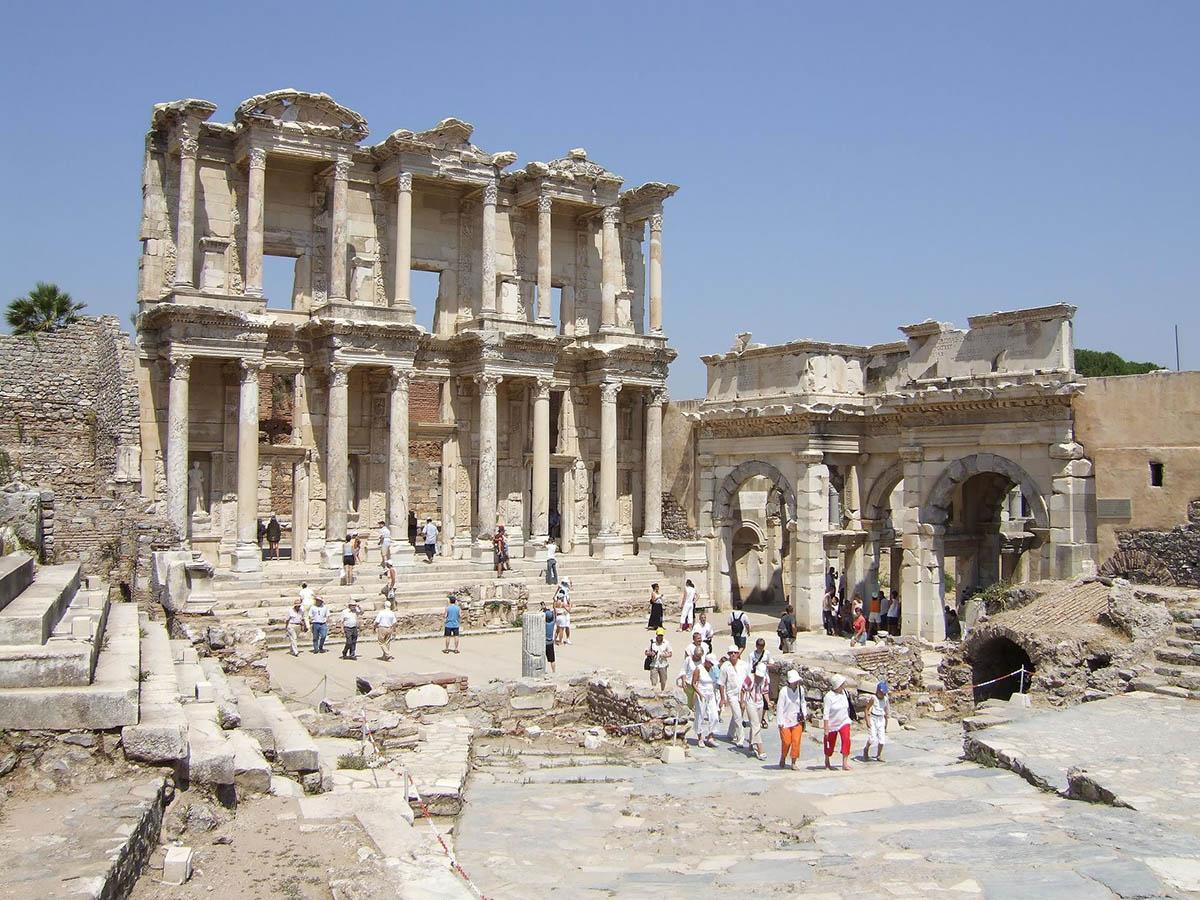 развалины Эфеса, Турция