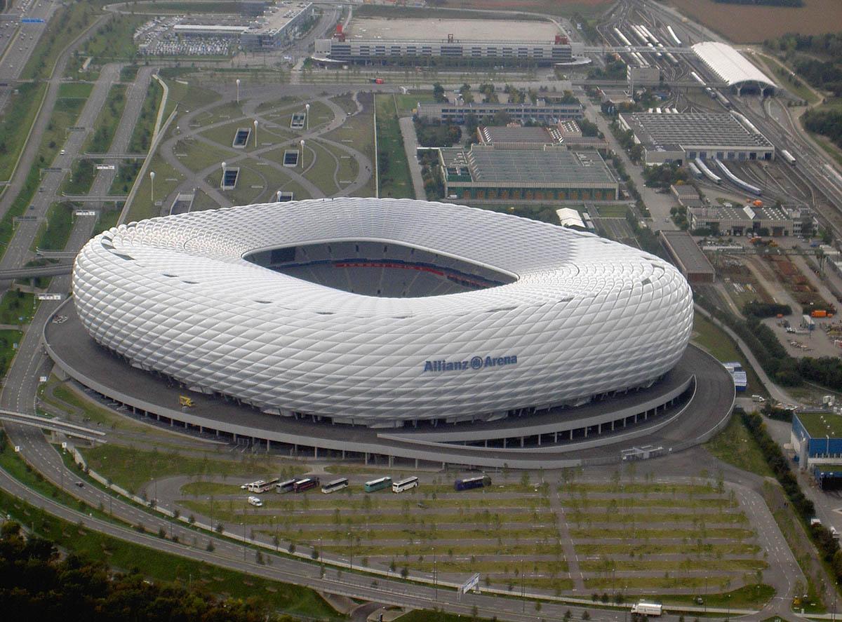 стадион Альянц Арена, Мюнхен, Германия