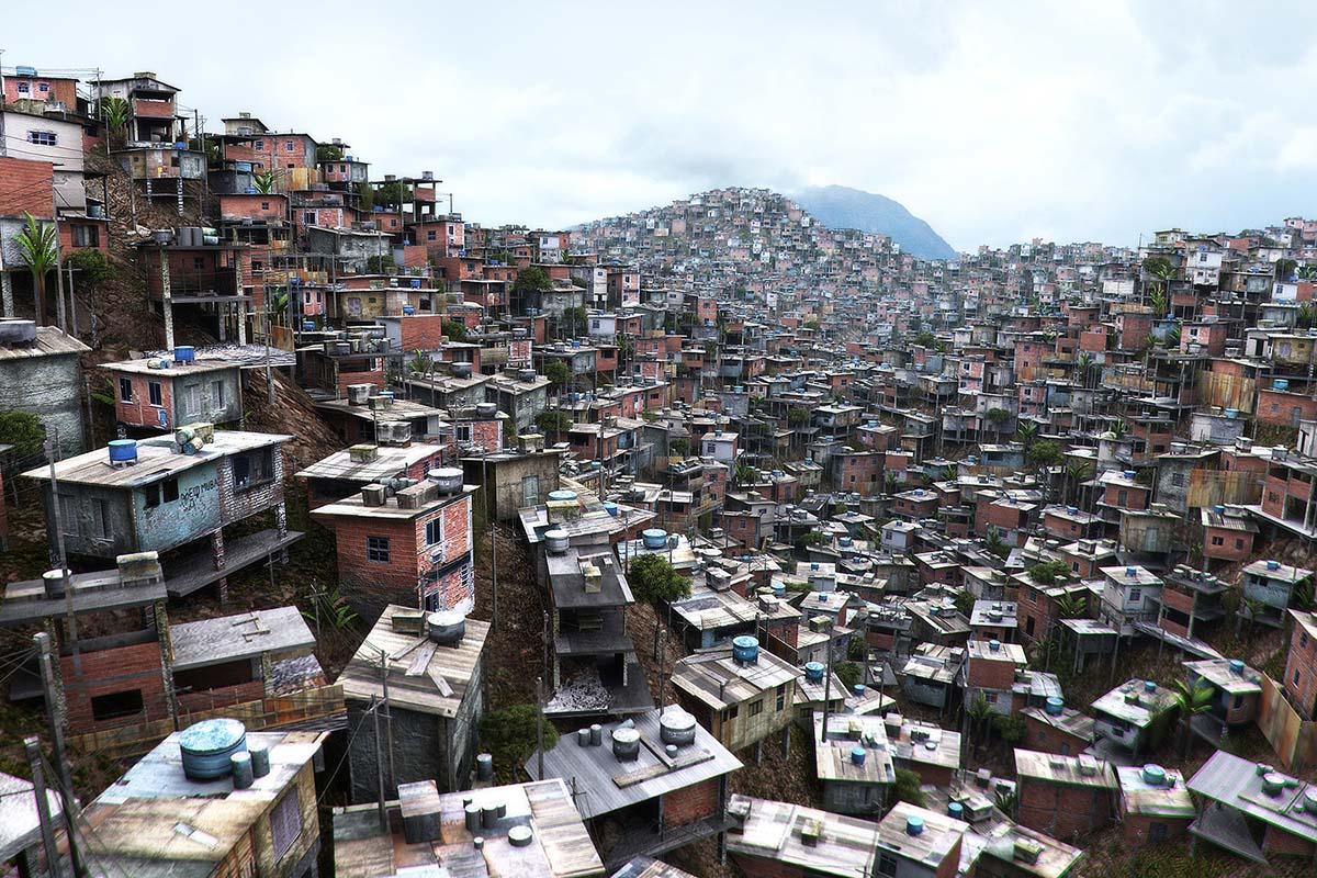 трущобы Бразилии