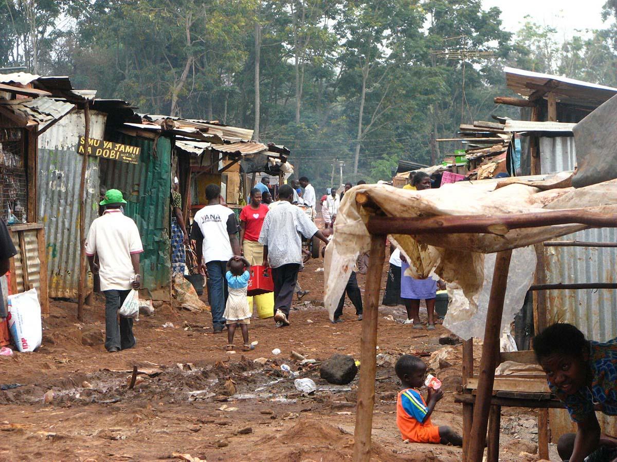 трущобы Кении
