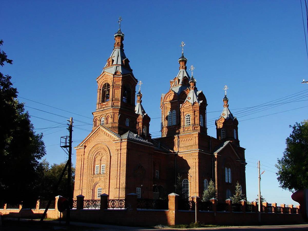 церковь Благовещения Пресвятой Богородицы в Желнино