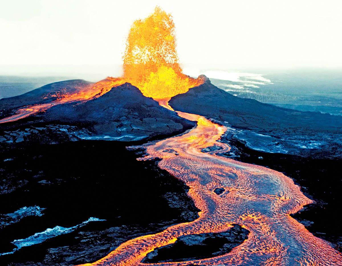 вулкан Килауэа, Гавайи