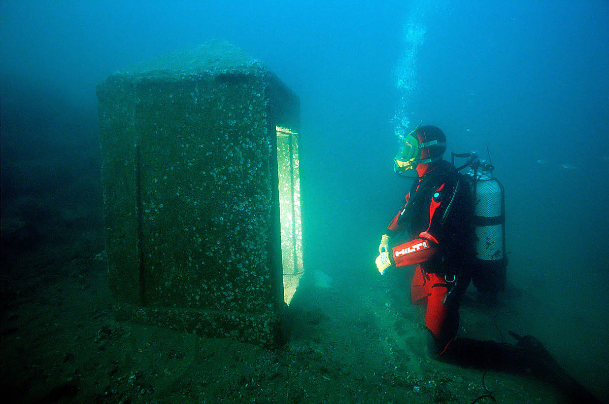 затонувший город Гераклион, Греция