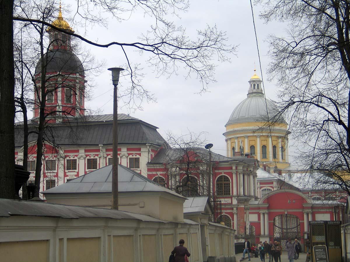 Александро-Невская Лавра, Санкт-Петербург, Россия