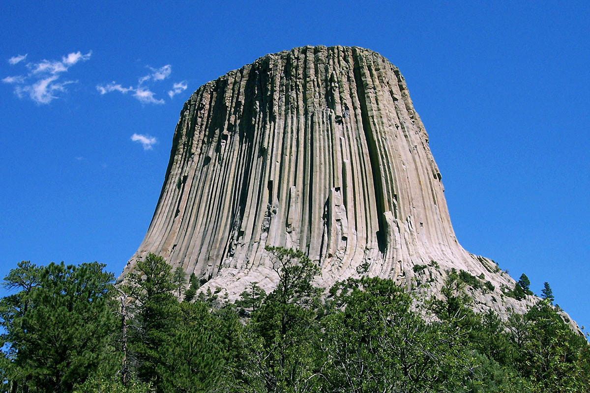 Devils Tower in USA