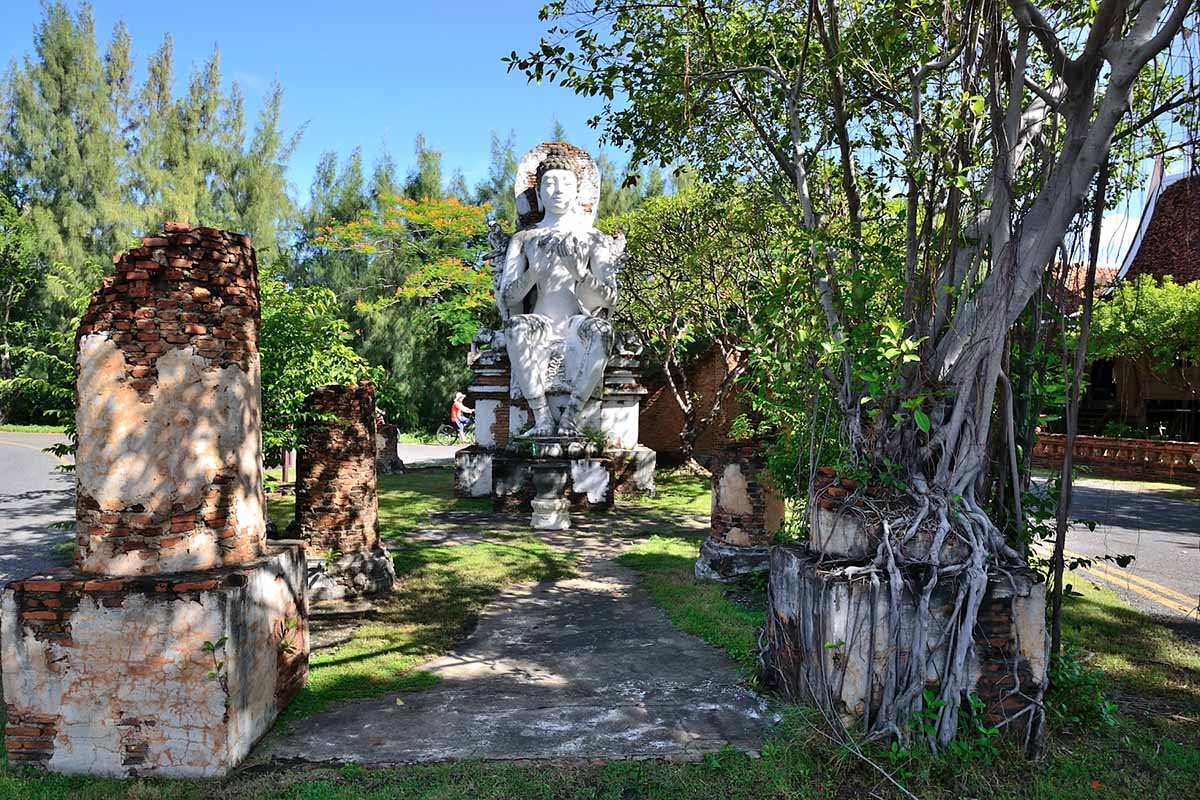 Древний город в Таиланде