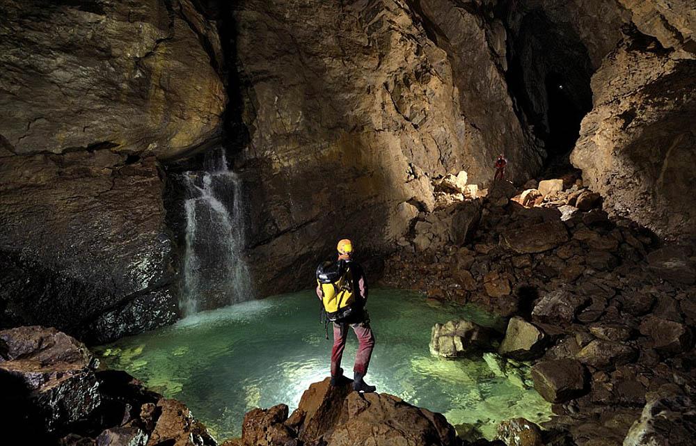 Gouffre Berger cave