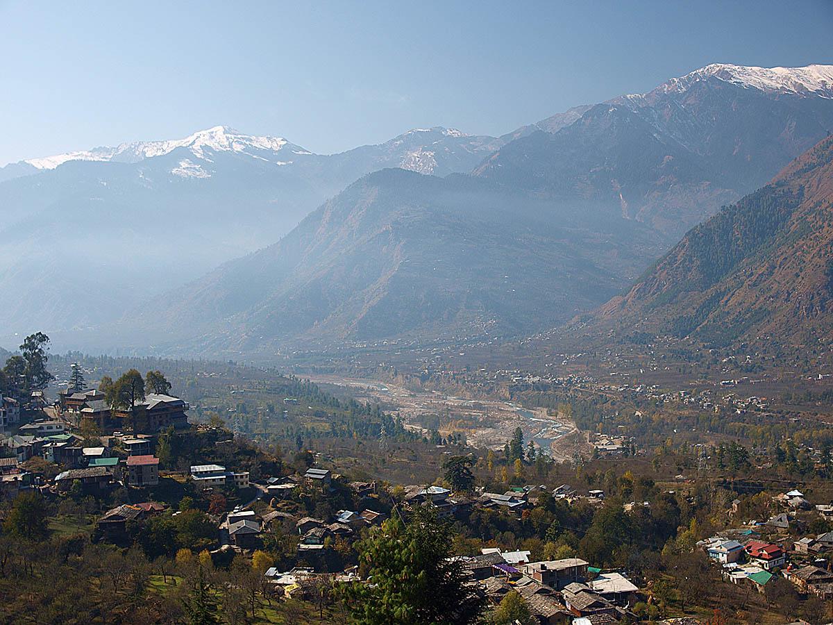 Himalayas from Kullu Valley, Himachal Pradesh