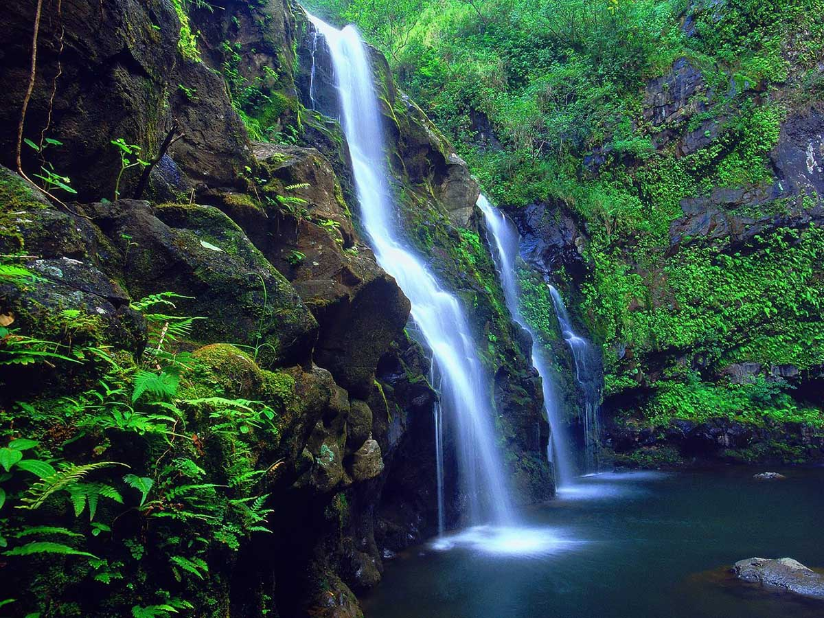 Honokohau Falls, Hawaii