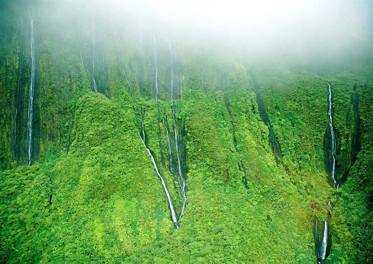 Honokohau Falls, Maui, Hawaii