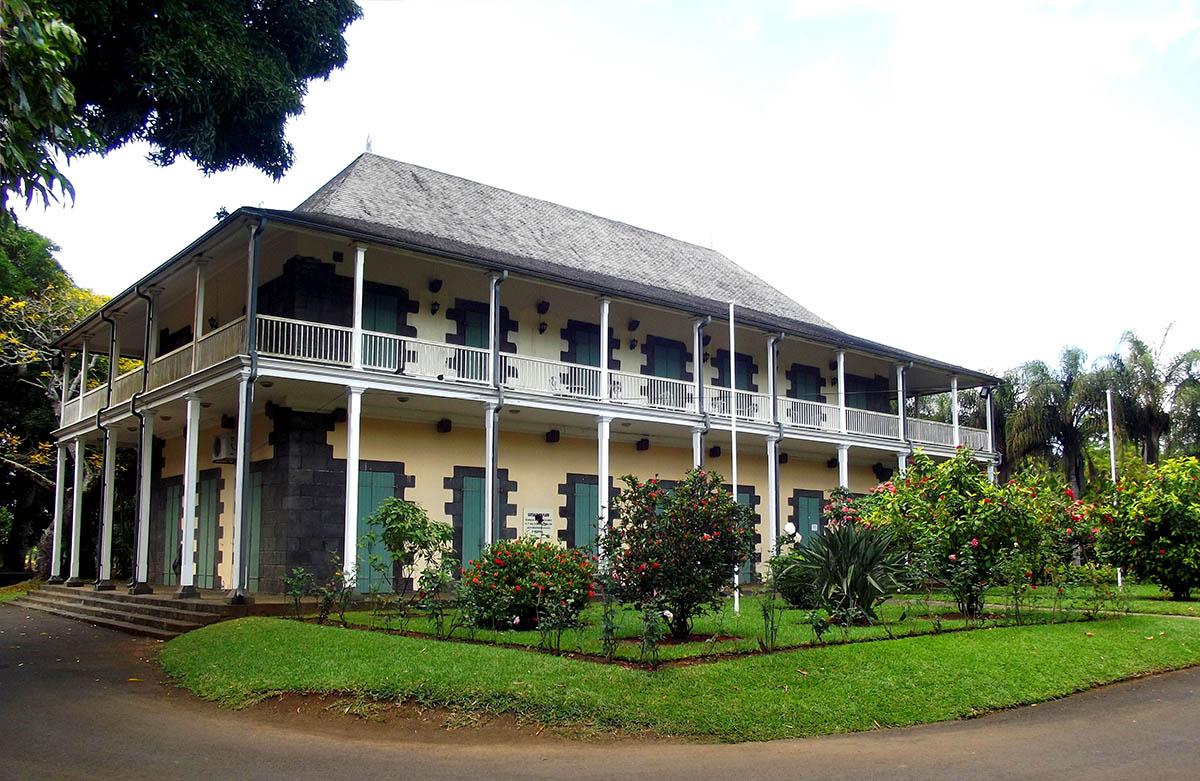 Le Chateau De Mon Plaisir, Pamplemousses Botanical Garden, Mauritius