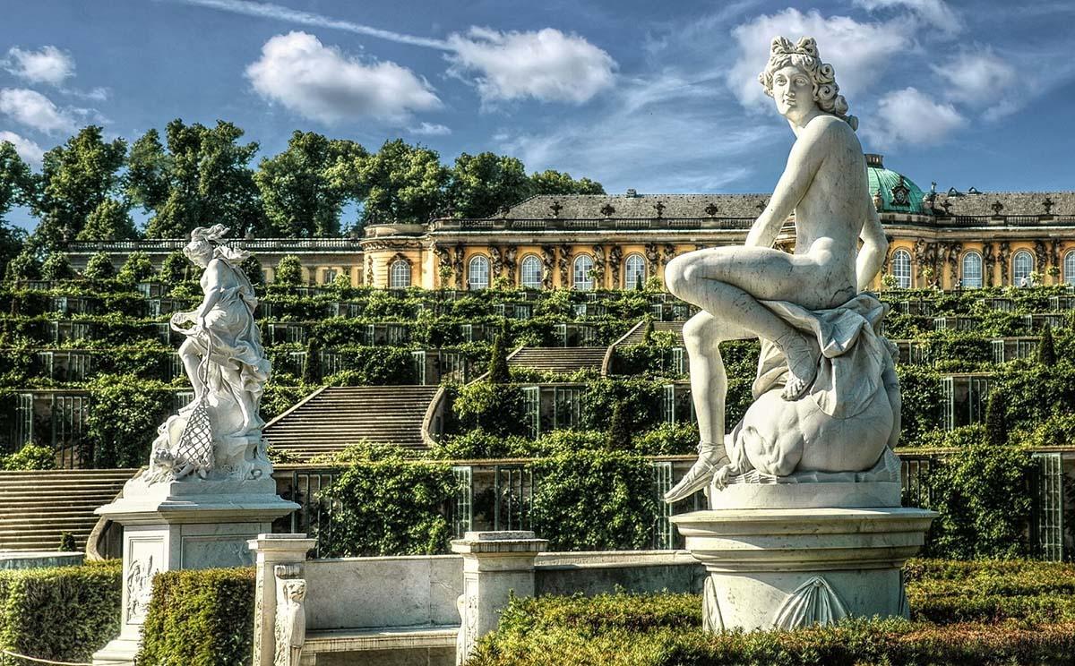 Potsdam, Sanssouci park