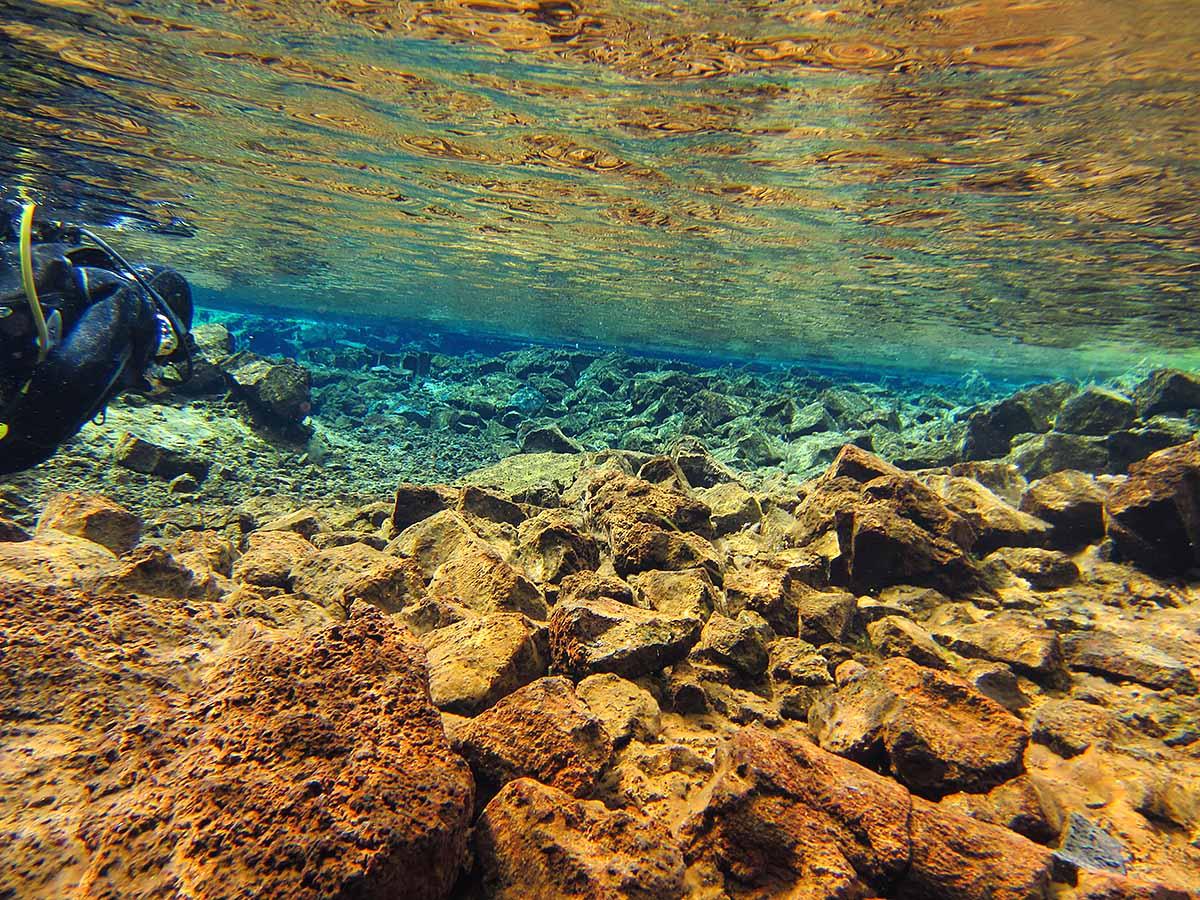 Silfra, National Park Thingvellir