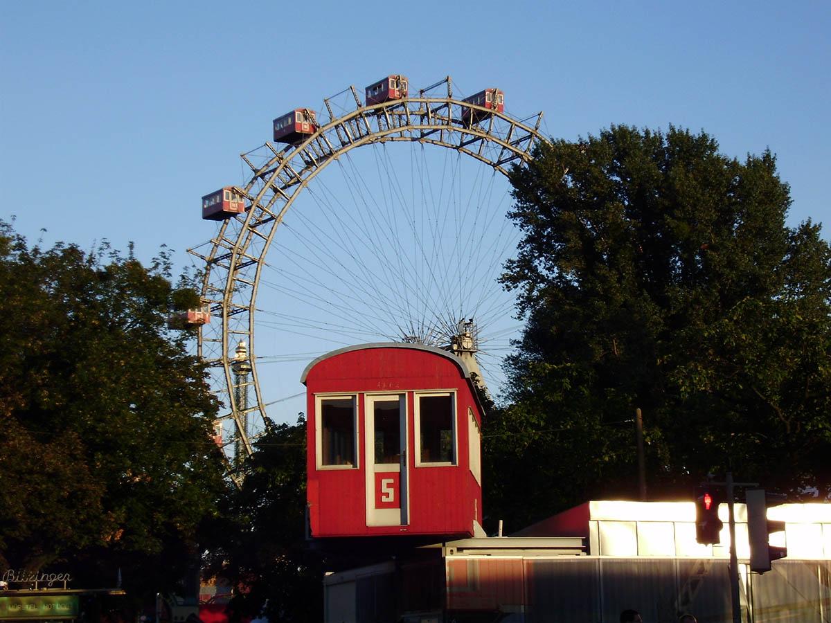 Венское Колесо в парке Пратер