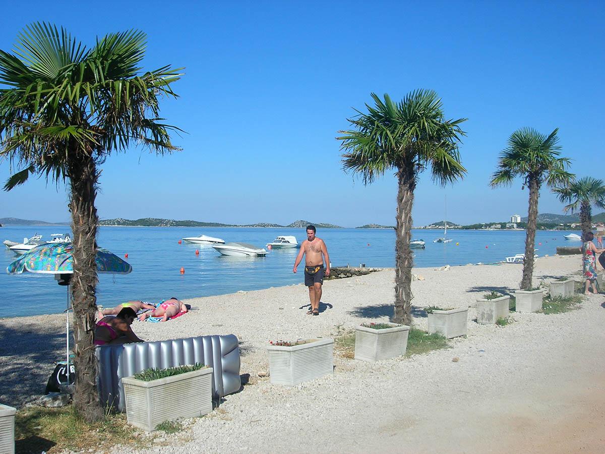 Vodice beach