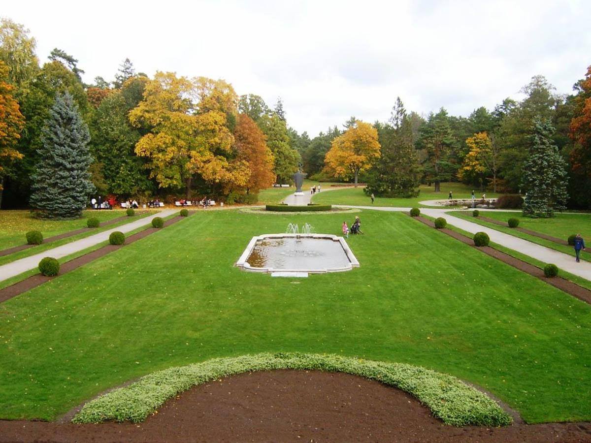 ботанический сад Паланги, Литва