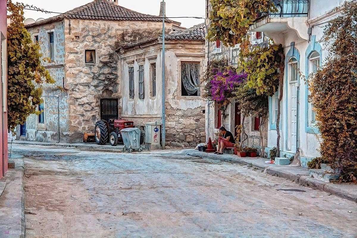 деревня Алачати, Турция