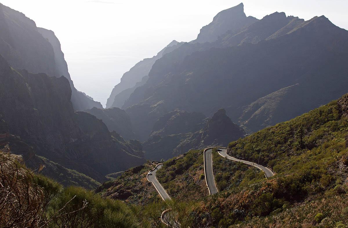 дорога в деревню Маска, Тенерифе