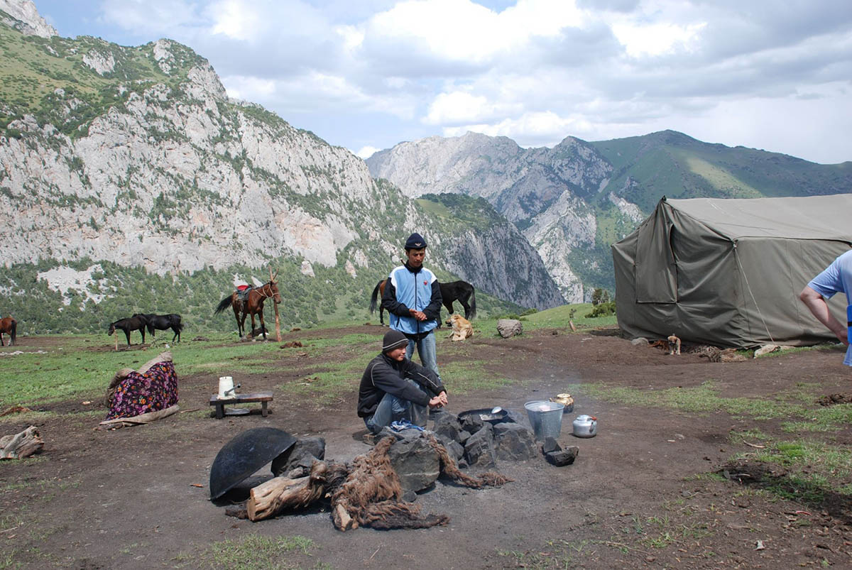 джайлоо-туризм в Киргизии