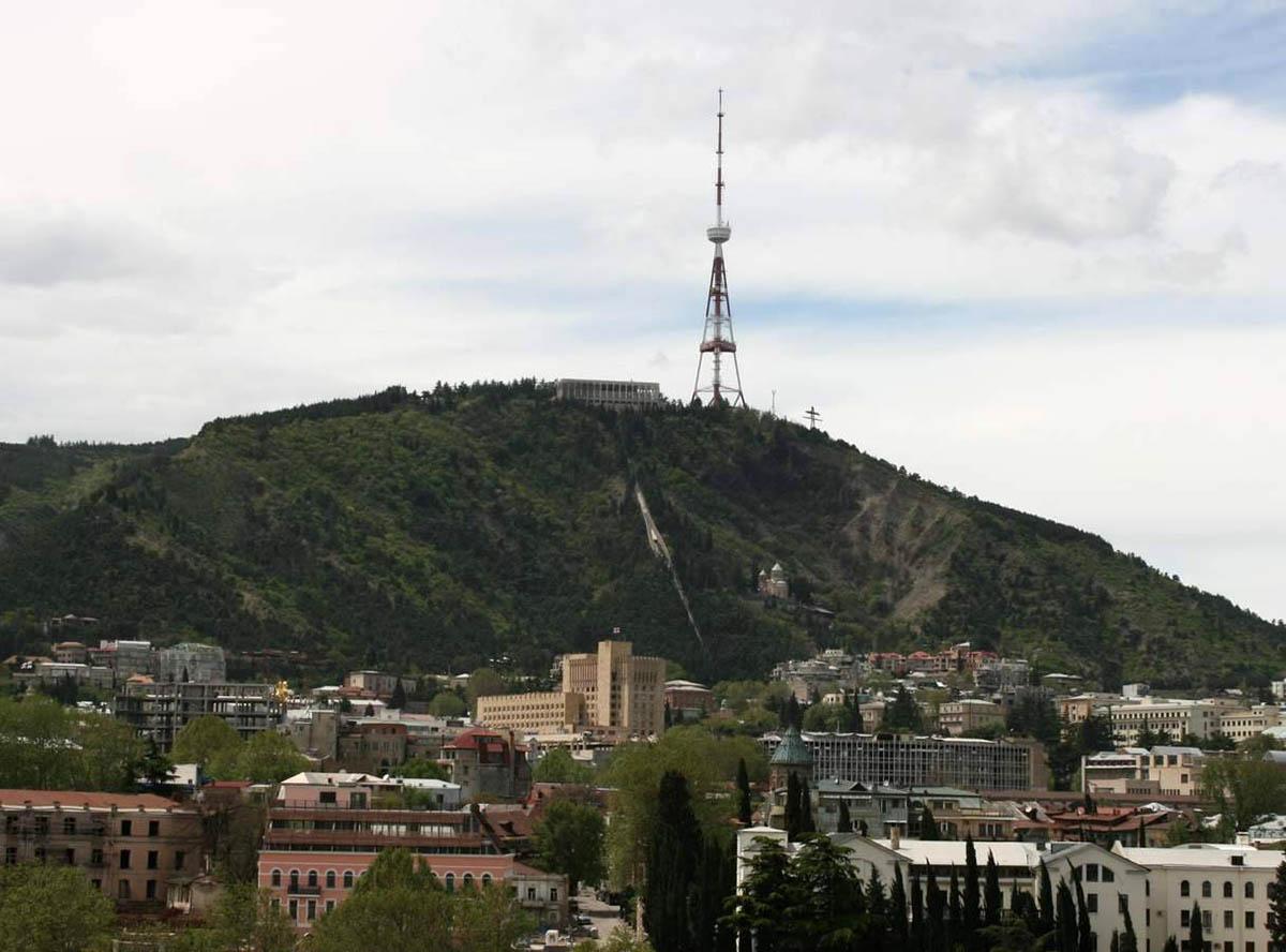 гора Мтацминда, Тбилиси, Грузия