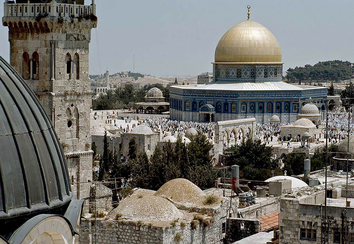храм Купол Скалы, Иерусалим