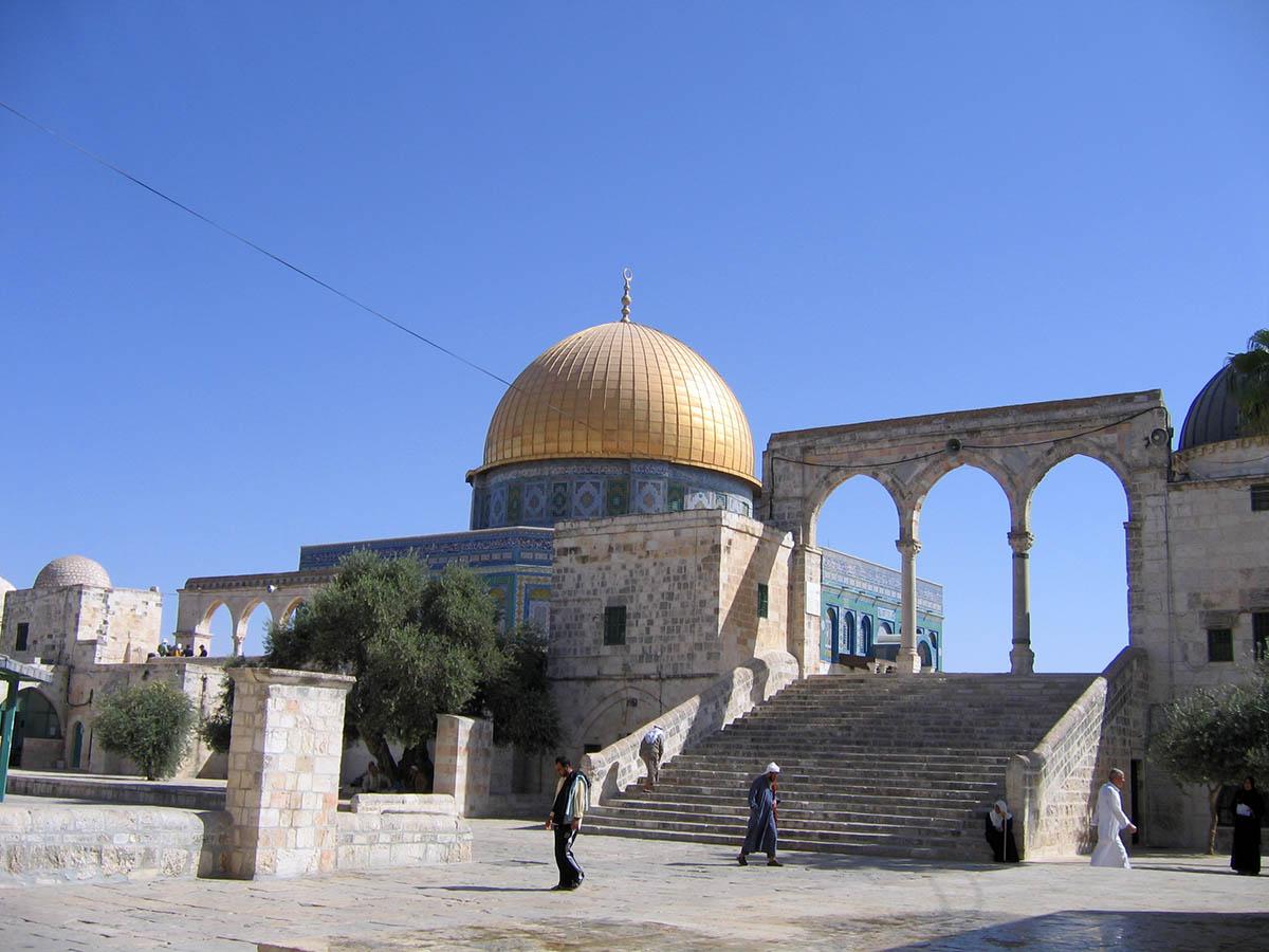 храм Купол Скалы в Иерусалиме