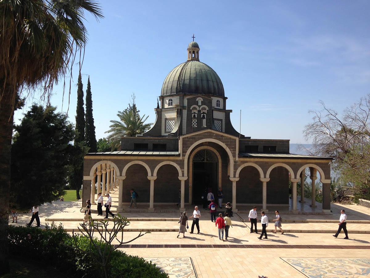 храм на горе Блаженств