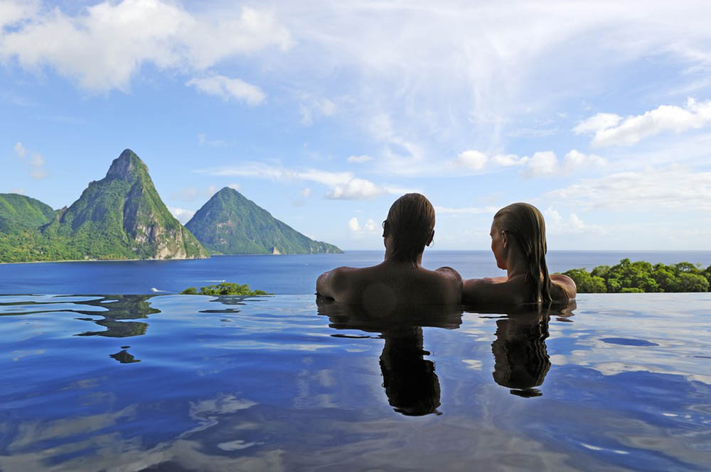 инфинити-бассейн эко-отеля Anse Chastanet Resort 5
