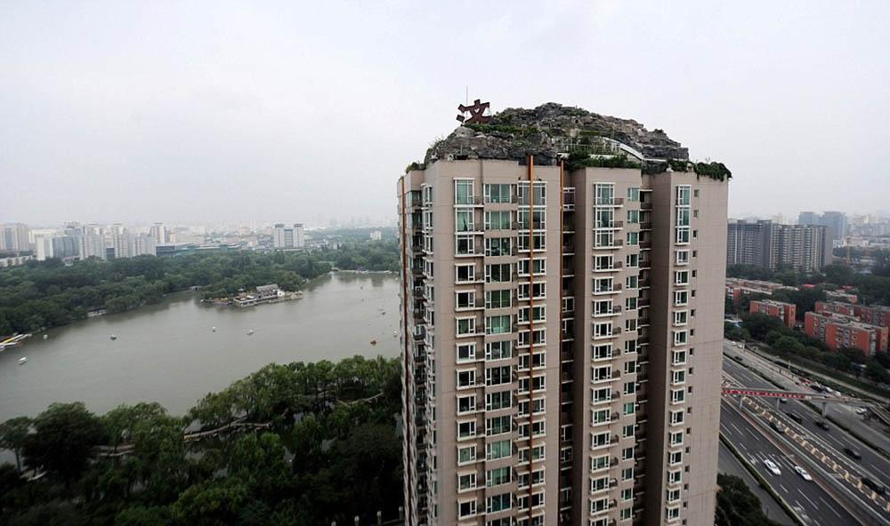 каменная вилла в Пекине