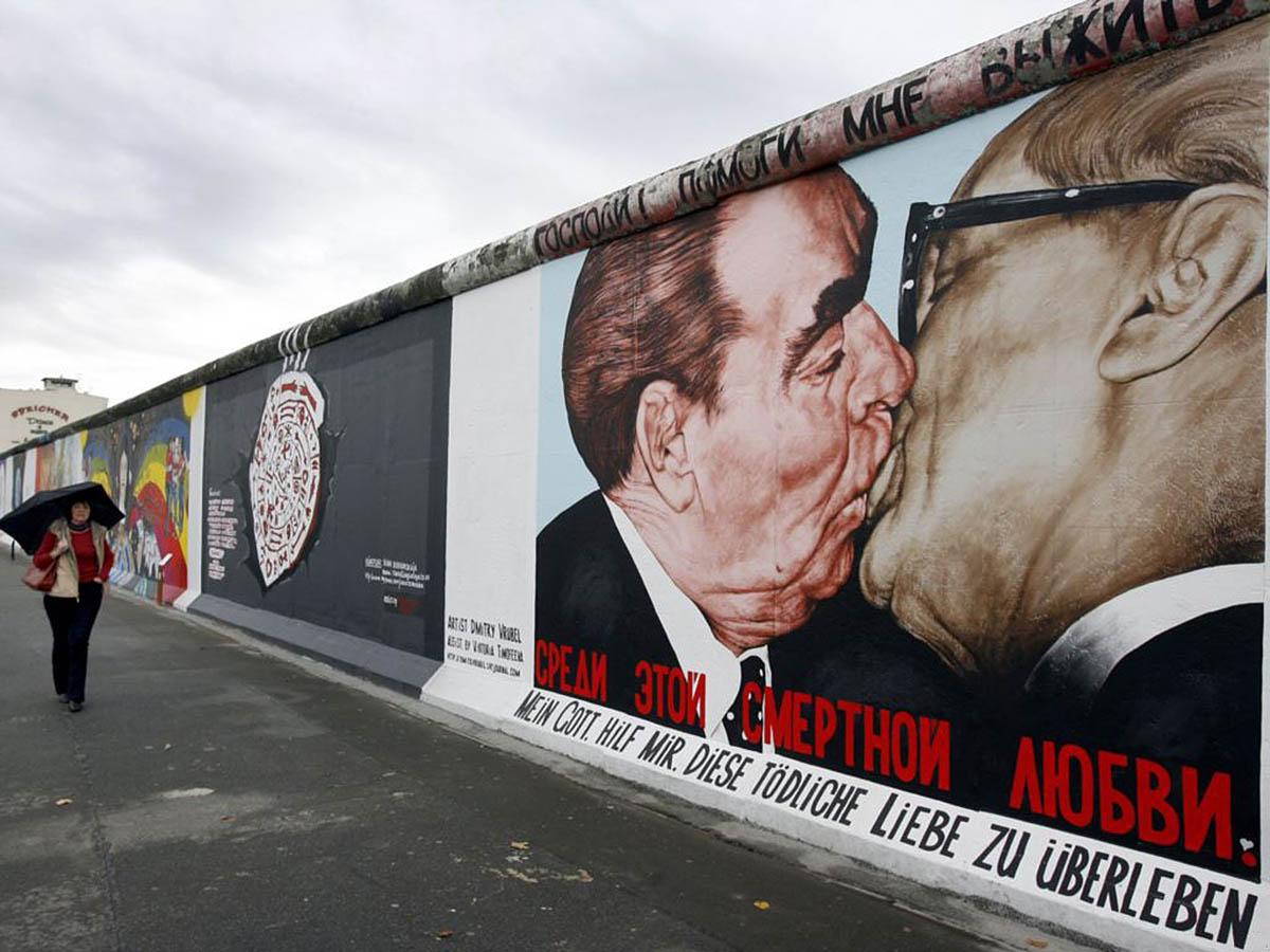 картины на Берлинской стене