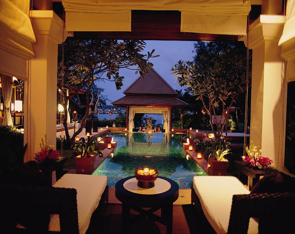 курорт Banyan Tree Phuket, Таиланд