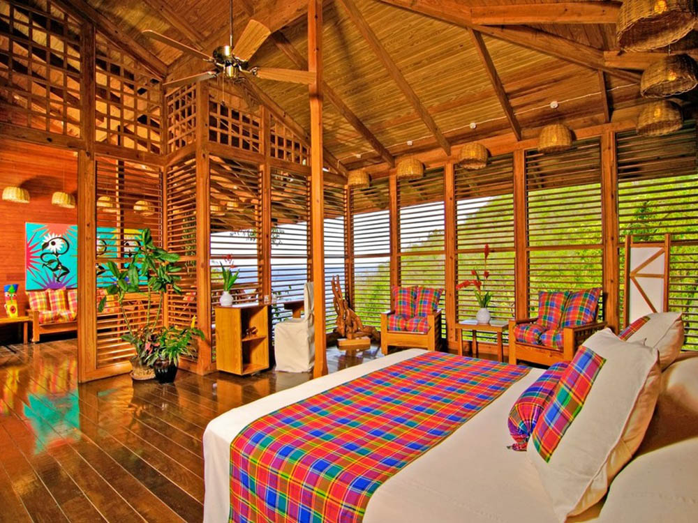 номер эко-отеля Anse Chastanet Resort 5