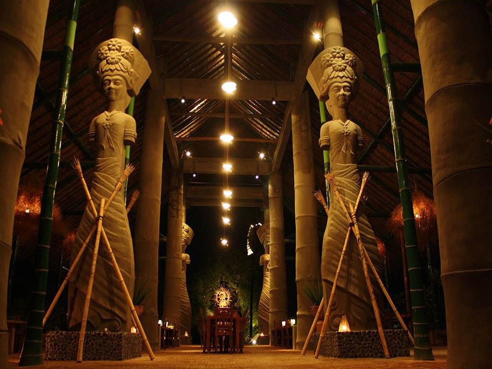 отель-музей Tugu, остров Ломбок, Индонезия