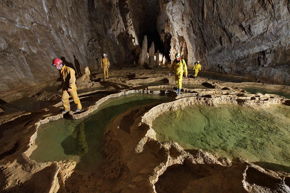 пещера Гуфр Берже, Франция