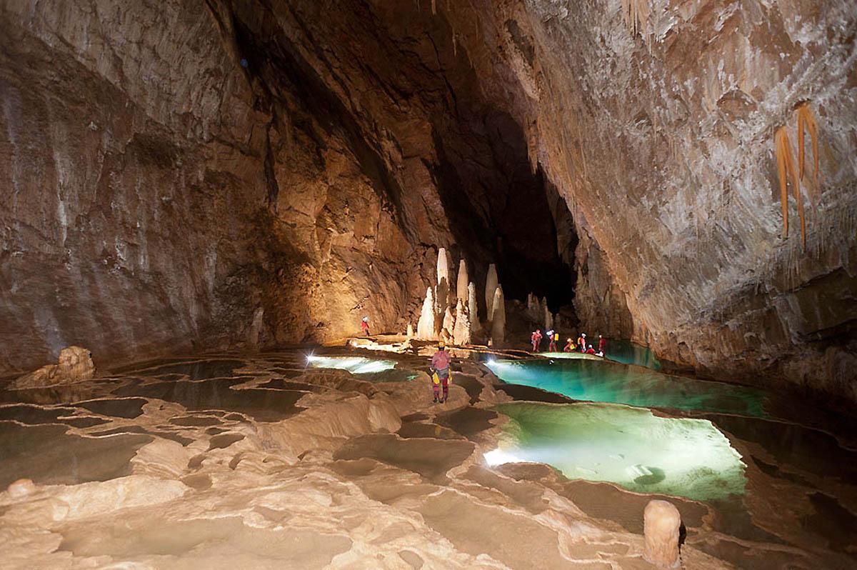 пещера Гуфр Берже во Франции