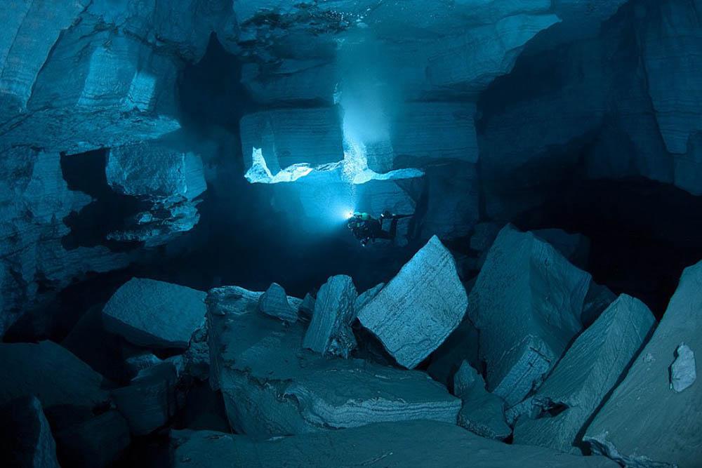 пещерный фридайвинг