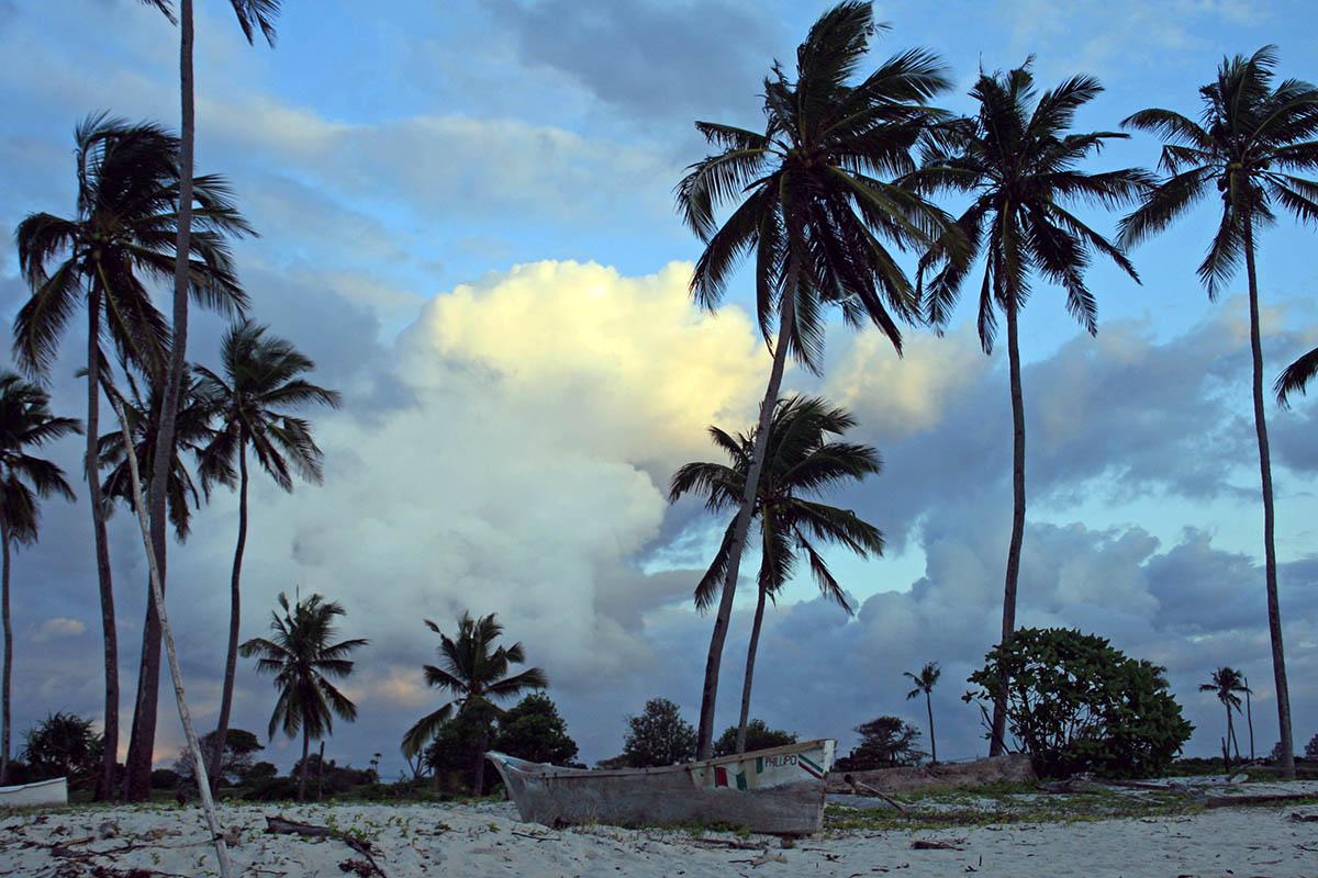 пляж Диани Бич, Кения