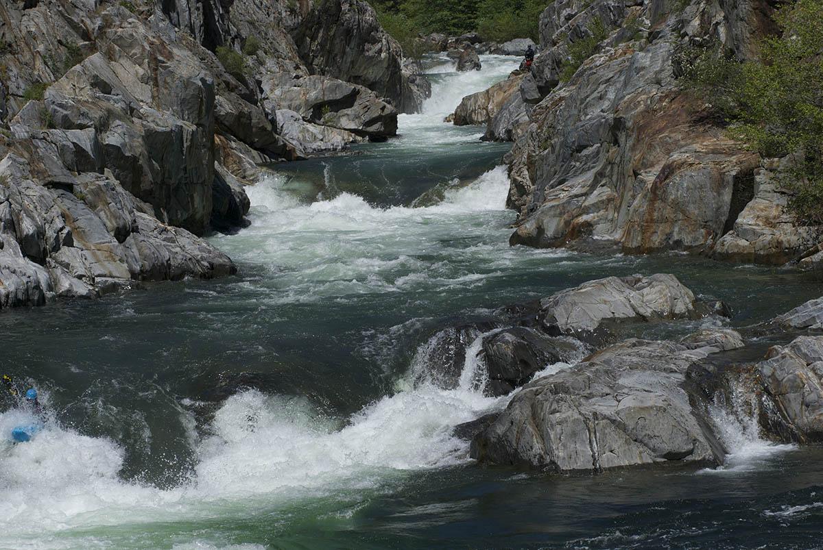 река Рубикон в Италии