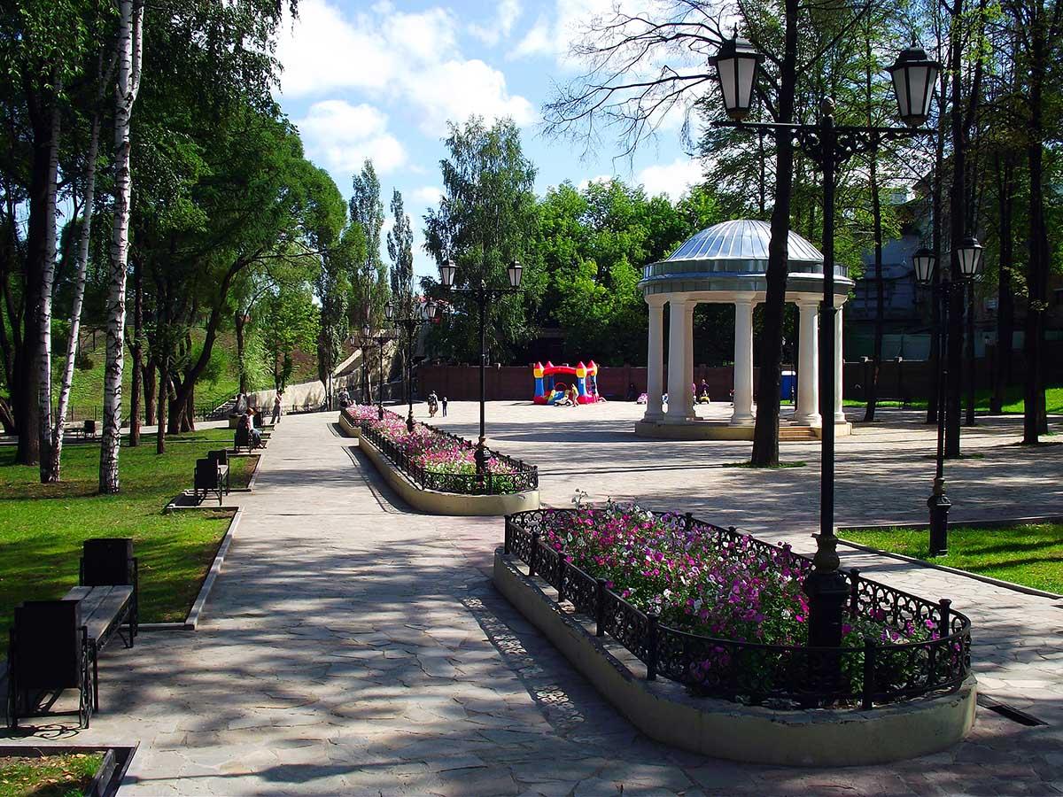 сад Свердлова, Пермь