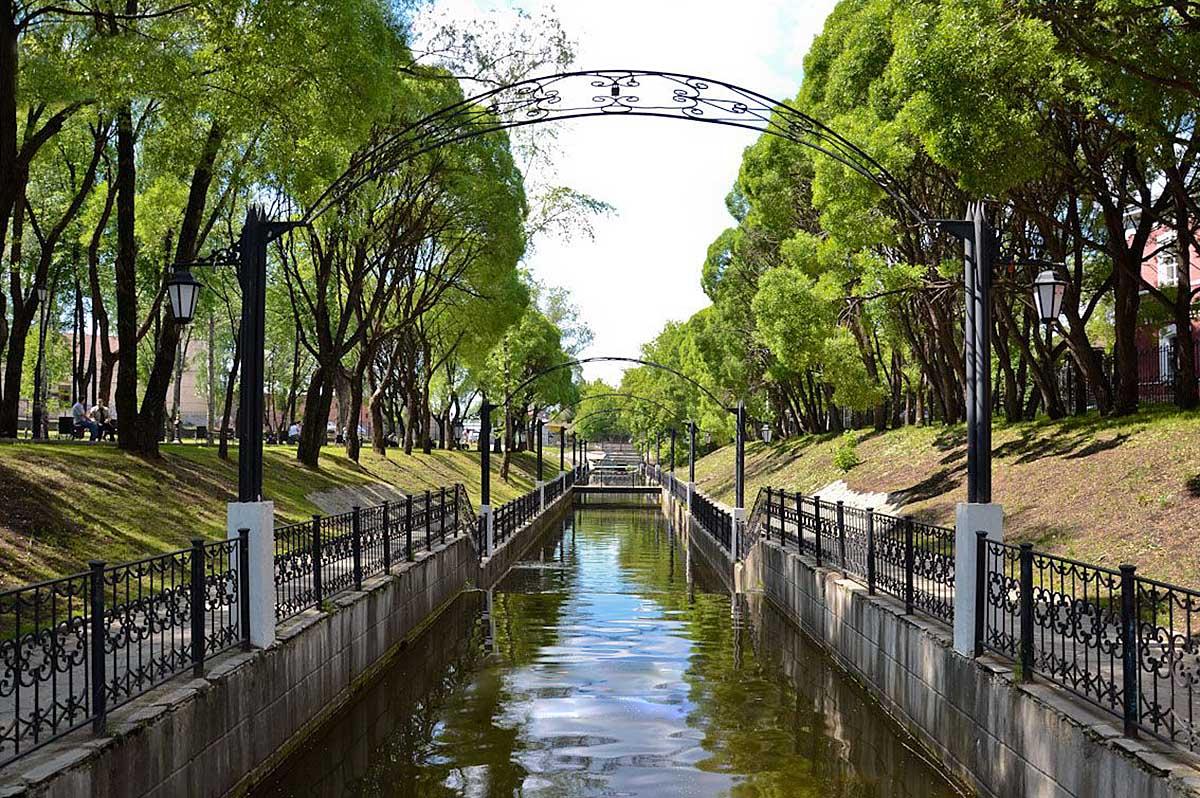 сад Свердлова в Перми