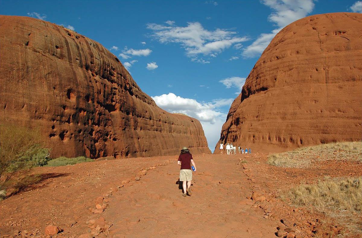 скалы Ольгас, Австралия