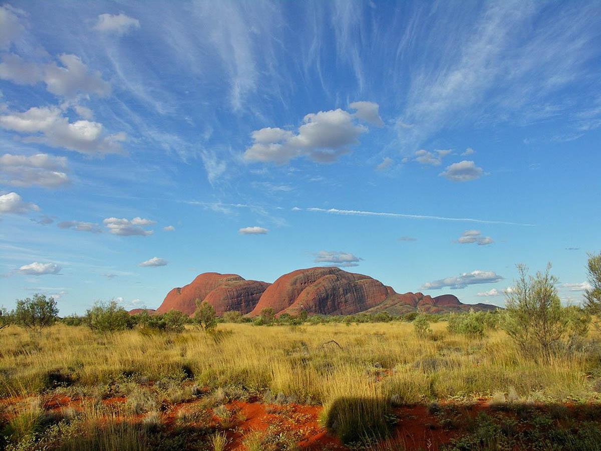 скалы Ольгас в Австралии