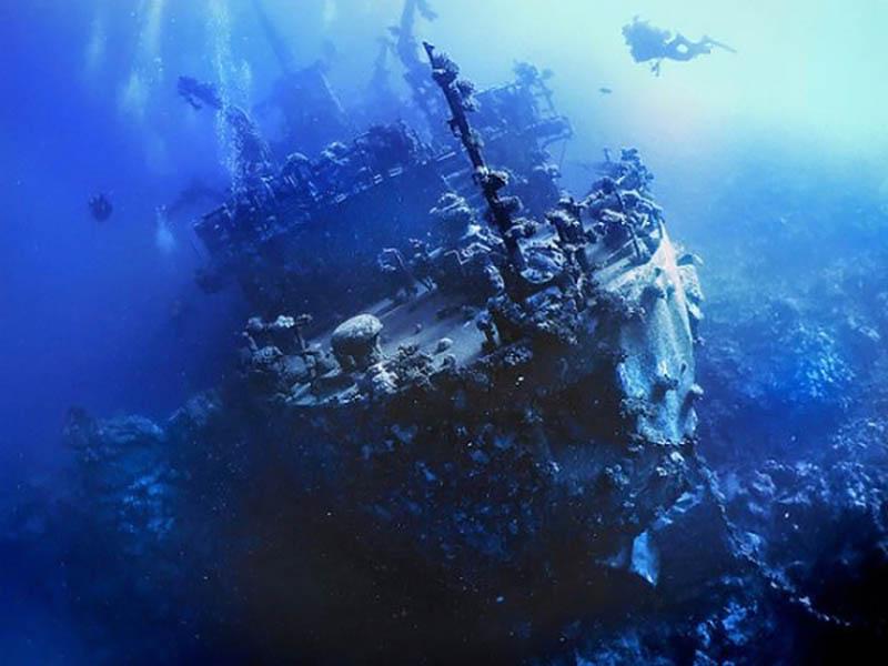 судно Ханка в Египте