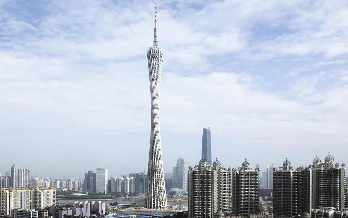 телебашня Гуанчжоу, Китай